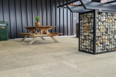 Outdoor Area: Frenchmood Cluny Grey Structure Tiles