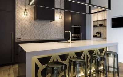 Chevron Splashback Kitchen Design